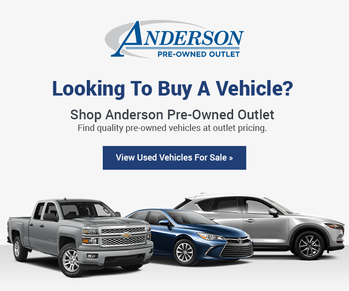 Shop Used Cars at Anderson Pre-Owned Outlet