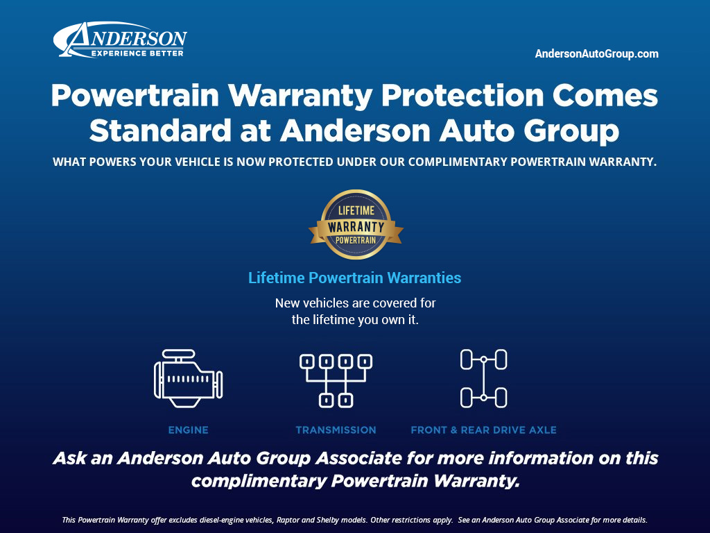 Anderson Auto Group Powertrain Warranty