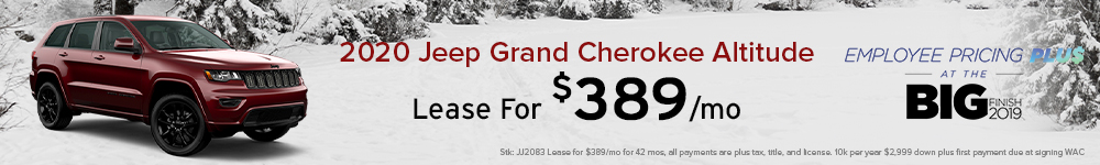 Jeep Grand Cherokee Offers