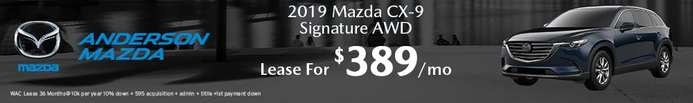Mazda CX-9 Lease offer in Lincoln, NE