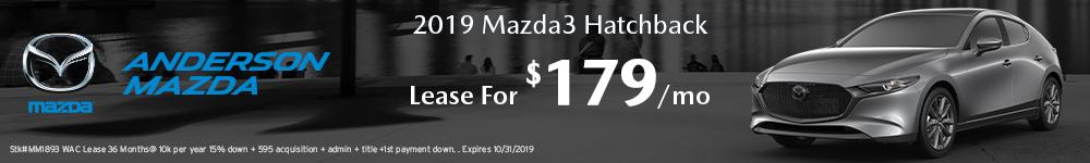 Mazda3 Hatchback Lease offer in Lincoln, NE