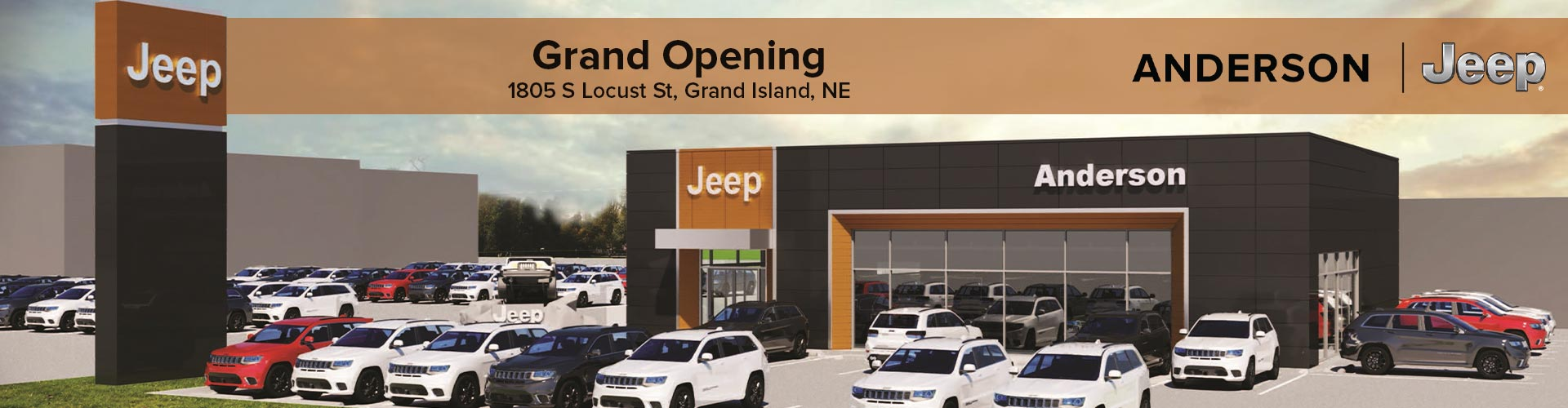 Anderson Jeep Grand Opening