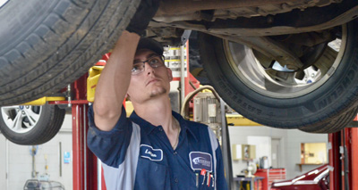 $10 off Oil Change and Tire Rotation Service