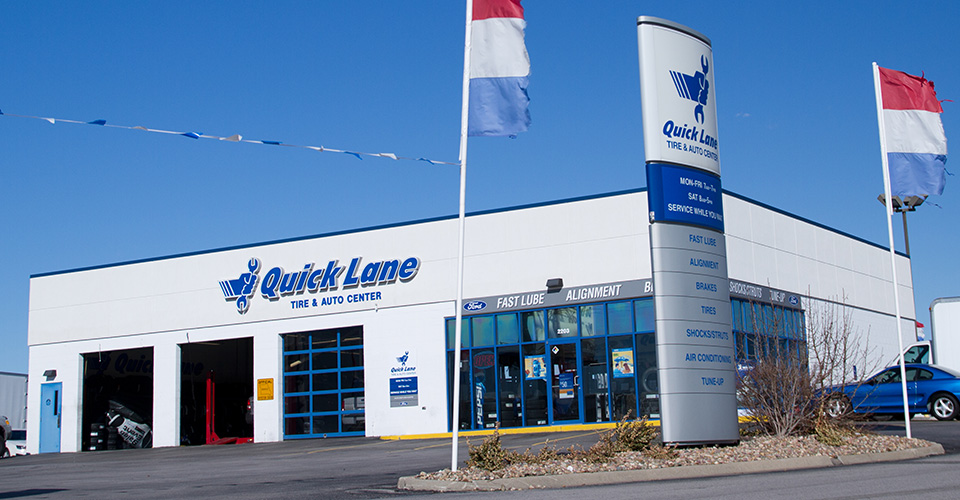 Locations Hours Quick Lane At Anderson Ford Of St Joseph